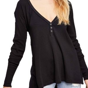 NWT We The Free Citrine Textured Cotton Top